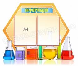 Информационный стенд для кабинета химии