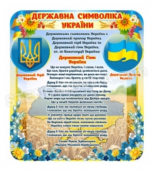 Державна символіка України - стенд