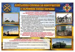 Військова служба за контрактом у ЗСУ