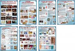 Комплект стендів «Форми обслуговування» для барменів