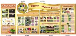 Комплект стендів з вирощування квітів «Квіти - окраса землі»