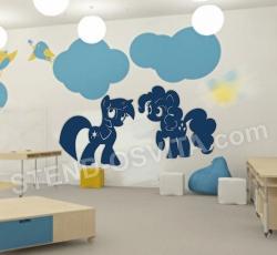 Декор у дитячу кімнату