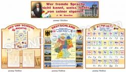 Пластикові стенди в кабінет німецької  мови