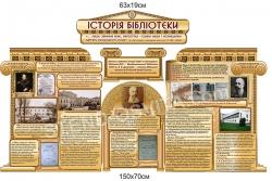 Комплект стендів «Історія бібліотеки»