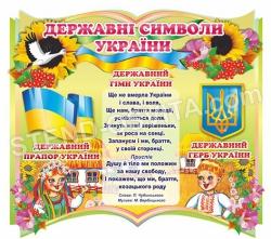 Державна символіка України для детей