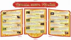 """Комплект стендов """"Красная книга Украины"""""""