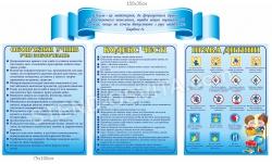 Комплект стендов «Права та обов'язки учнів»