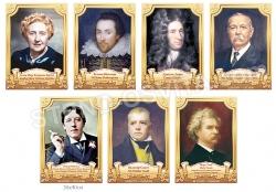 Портреты английских писателей и поэтов