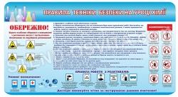 Стенд  «Правила техніки безпеки»