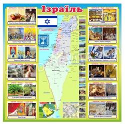 """Інформаційний стенд """"Ізраїль"""""""