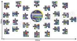 Комплект пластикових стендів «Європейський союз»