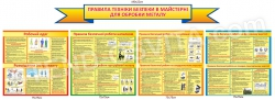 Правила техніки безпеки в майстерні для обробки металу