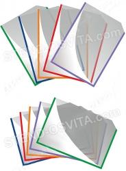 Пластиковые карманы на двухстороннем скотче