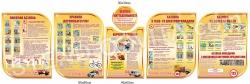 Композиція стендів з безпеки життєдіяльності для дітей