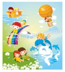 Банер для оформлення дитячого закладу