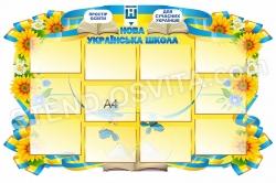 Стенд «Нова Українська школа»