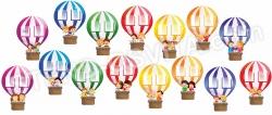 Комплект для оформлення класу «Це ми на повітряних кулях»
