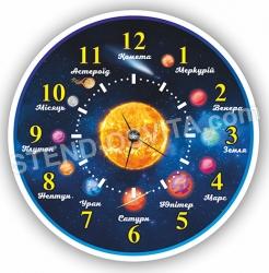 Астрономічний годинник ( з годинниковим  механізмом)