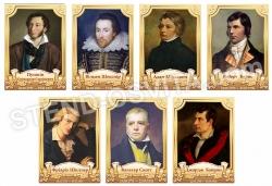 Портрети класиків зарубіжної літератури