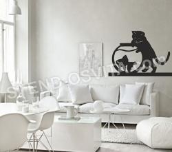 """Декор на стену """"Кошка"""""""